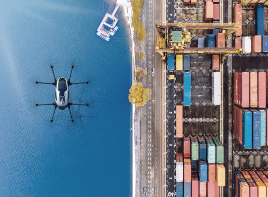 Drohnen, Logistik, Zukunft- gleich bereit machen zum Abheben