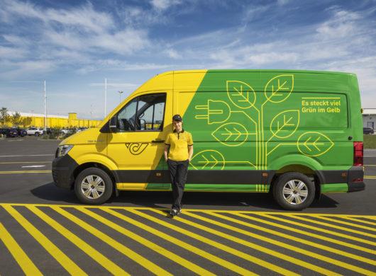 Grüne Citylogistik Neu im grünen Herz